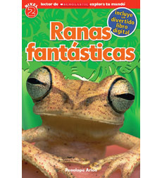 Scholastic Discover More Reader Level 2: Ranas Fantásticas
