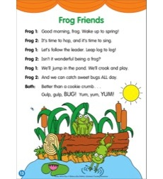 Frog Friends: Poetry Mini-Play