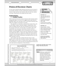 Points-of-Decision Charts: Better Than Book Reports