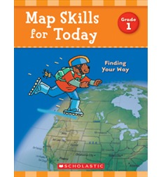 Map Skills for Today: Finding Your Way - Grade 1