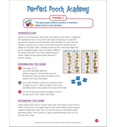 File-Folder Game - Time: Perfect Pooch Academy (matching times to time phrases)