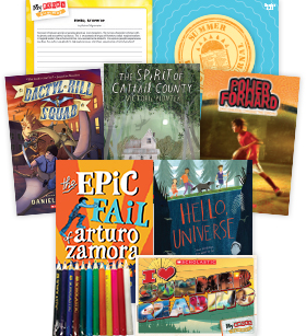 My Books Summer Grade 6 Fiction Pack