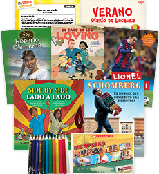 My Books Summer Spanish Grade 5 Nonfiction Pack
