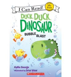 My First I Can Read! - Duck, Duck, Dinosaur: Bubble Blast