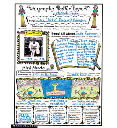 Instant Personal Poster Sets: Biography Report