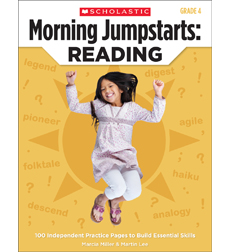 Morning Jumpstarts: Reading: Grade 4