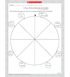If You Give a Mouse a Cookie - Activity Sheet