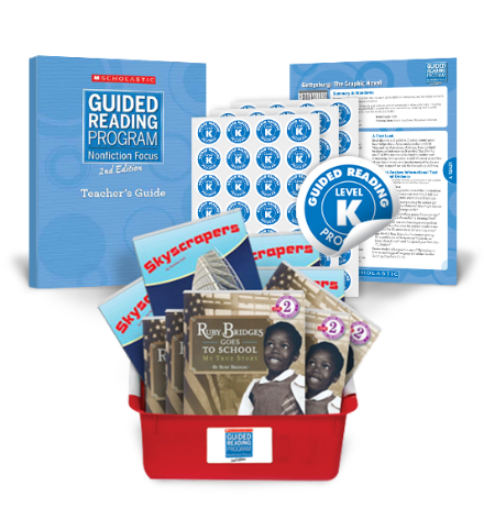 Guided Reading Nonfiction Focus 2nd Edition Level K