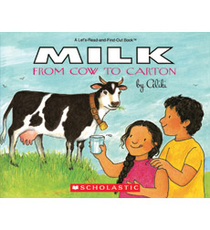 Let's-Read-and-Find-Out Science: Milk From Cow to Carton