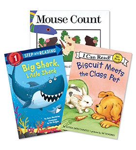 Guided Reading Level Pack II-F