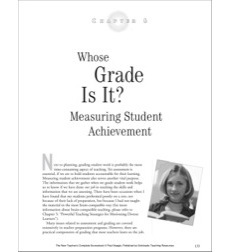 Whose Grade Is It? Measuring Student Achievement: New Teacher Resources (Middle School)
