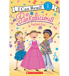 Pinkalicious-I Can Read! Level 1: Fashion Fun