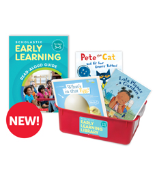 Scholastic Early Learning Library for Ages 3-5