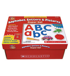 little red tool box alphabet letters pictures super set