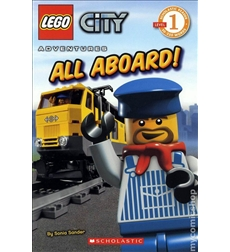 Scholastic Reader!® Level 1-LEGO® City: All Aboard!