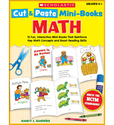 Cut & Paste Mini-Books: Math