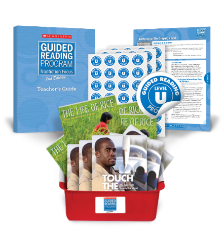 Guided Reading Nonfiction Focus 2nd Edition Level U