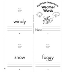 Mini-Dictionary: Weather Mini-Dictionary