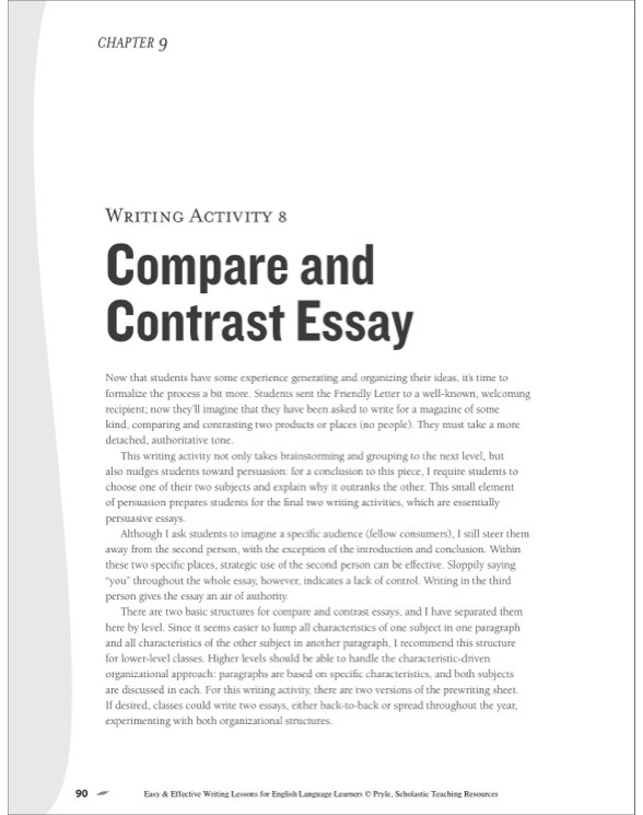 compare contrast essay for Compare and contrast essay topics for college students might be tricky to choose the whole process of academic writing is even longer and more complex online help from expert writers will save you a plenty of time.