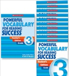 Powerful Vocabulary for Reading Success: 10 Student Workbooks + TE Grade 3