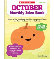 October Monthly Idea Book