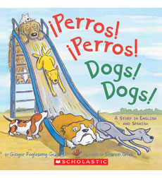 "A delightful, fully-bilingual story of dogs of every size, shape and activity level. ""Short, breezy and full of activity.""-Kirkus"
