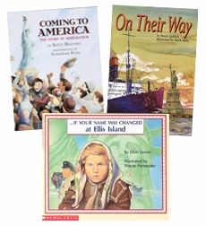 Scholastic Trio Individual Theme Unit Set 3, Social Studies - Immigrant Stories, Grades 3-4