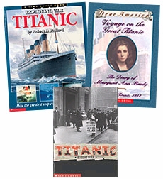 Scholastic Trio Individual Theme Unit Set 6, Social Studies - The Titanic, Grades 6-7