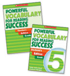 Powerful Vocabulary for Reading Success: 30 Student Workbooks + TE Grade 5