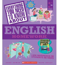 Everything You Need to Know about English Homework 9780545374743