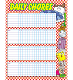 Daily Chores Chart