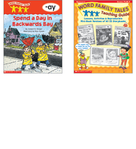word family tales box set by rh shop scholastic com scholastic word family tales teaching guide Scholastic Word Families