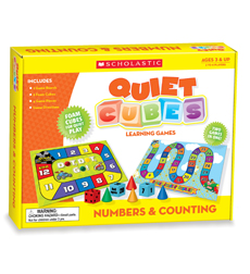Numbers & Counting Quiet Cubes Learning Games