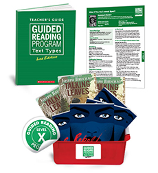Guided Reading Text Types: Level X