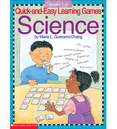 Quick-And-Easy Learning Games: Science 9780545409544