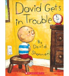No, David!: David Gets in Trouble