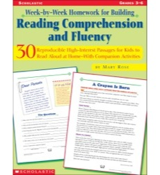 Week-by-Week Homework for Building Reading Comprehension and Fluency: Grades 3–6