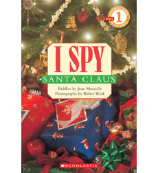 Scholastic Reader!® Level 1-I Spy: I Spy Santa Claus