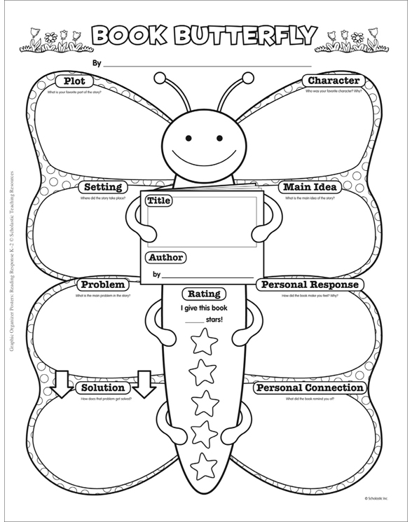Graphic Organizer Posters: Reading Response: Grades K–2 by ...