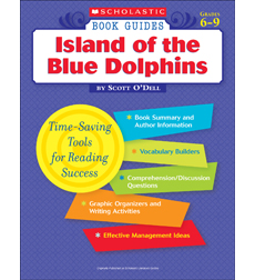 Scholastic Book Guides: Island of the Blue Dolphins