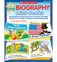 15 Easy Biography Mini-Books