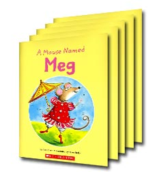 Guided Reading Set: Level A - A Mouse Named Meg