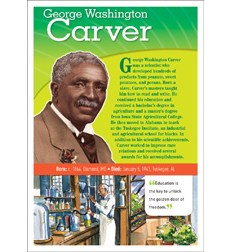POP! Chart Notable African Americans: Carver