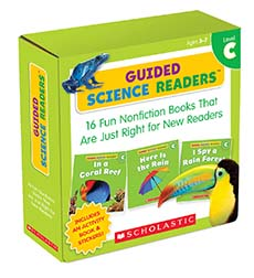 Guided Science Readers Parent Pack: Level C 9780545650946