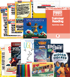 Comprehensive Summer Reading Solution Grade 5 Nonfiction (5 Books)