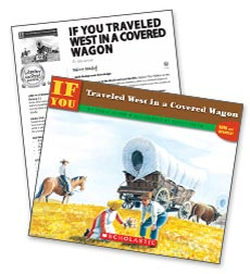 If you Traveled West in a Covered Wagon – Literacy Express Pack