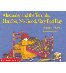 Alexander Books: Alexander and the Terrible, Horrible, No Good, Very Bad Day 9780590421447