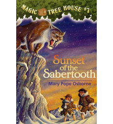 Magic Tree House: #7 Sunset of the Sabertooth