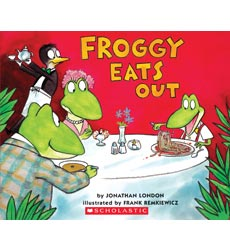 Froggy Books: Froggy Eats Out