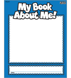 My Book About Me Student Book